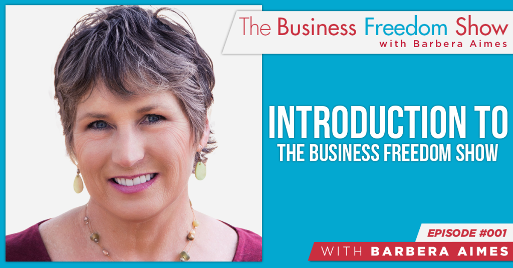 E001: Barbera Aimes – Introduction to The Business Freedom Show