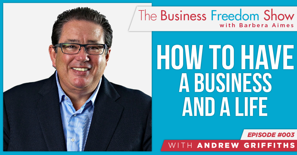 E003: Andrew Griffith – How to Have a Business And a Life